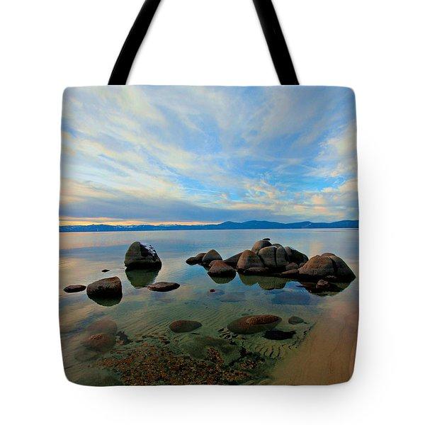 Serenity  Tote Bag by Sean Sarsfield