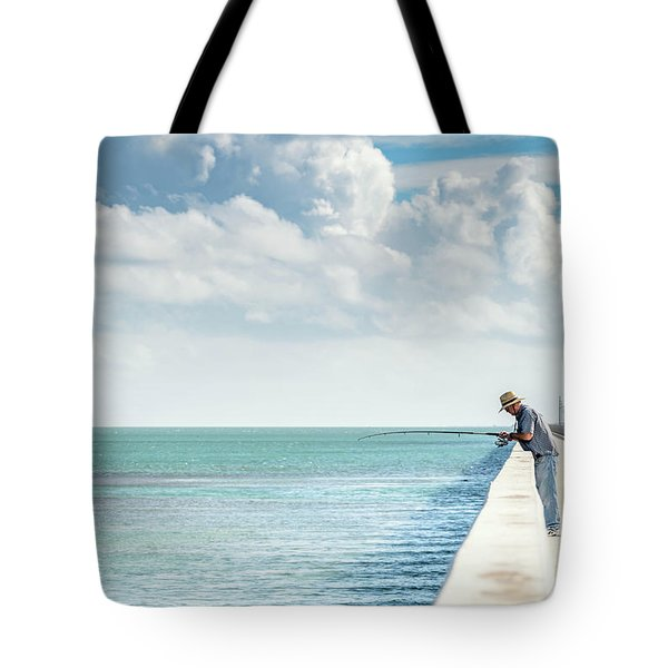 Seven Mile Fishing Tote Bag