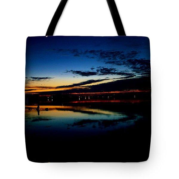 Shades Of Calm Tote Bag