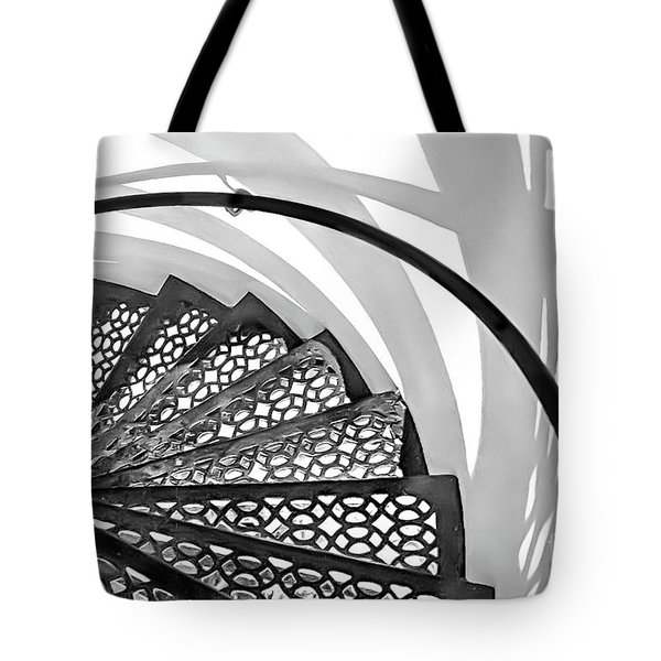 Shadow Lines Tote Bag