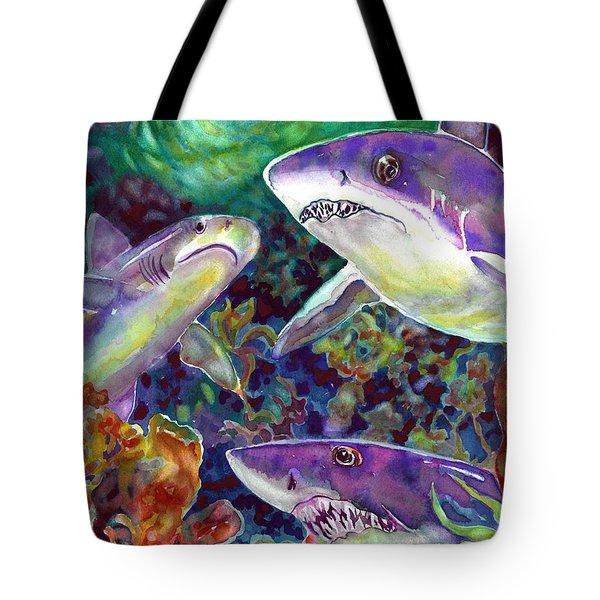 Sharks Tote Bag
