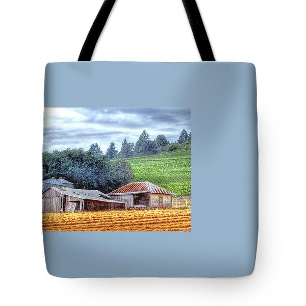 Shed And Grain Bins 17238 Tote Bag