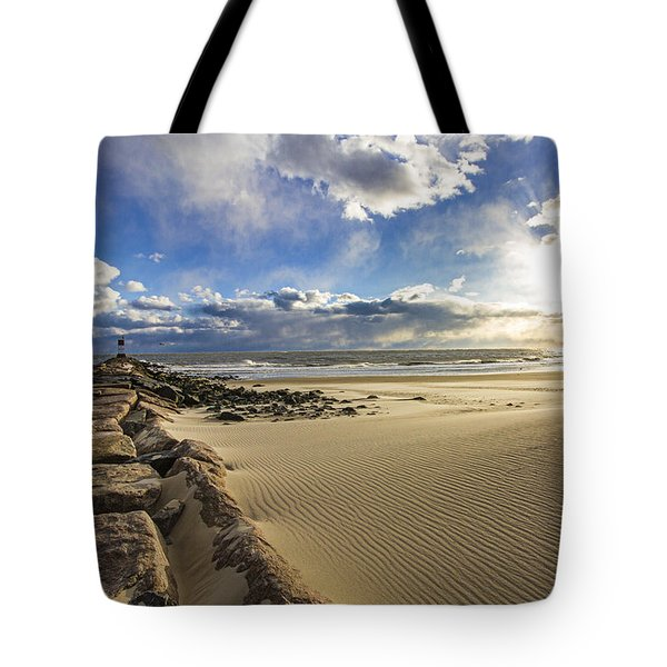 Shinnecock Sand Drift Tote Bag