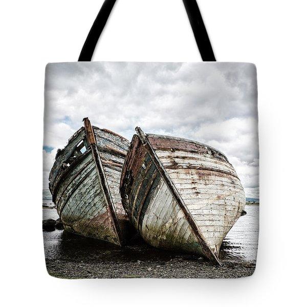 Shipwrecks Tote Bag