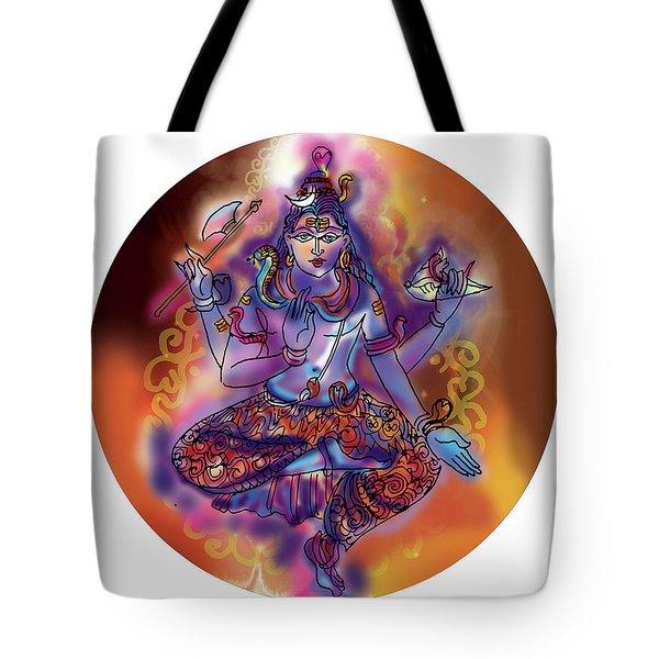 Shiva Dhyan Tote Bag