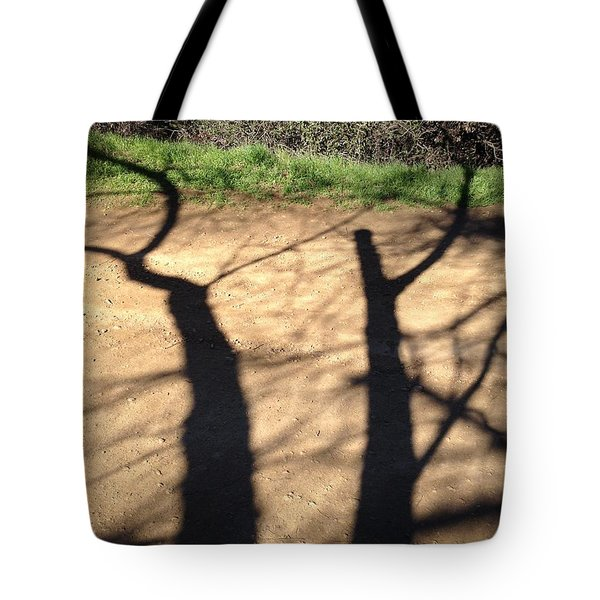 Side By Side Tote Bag by Nora Boghossian