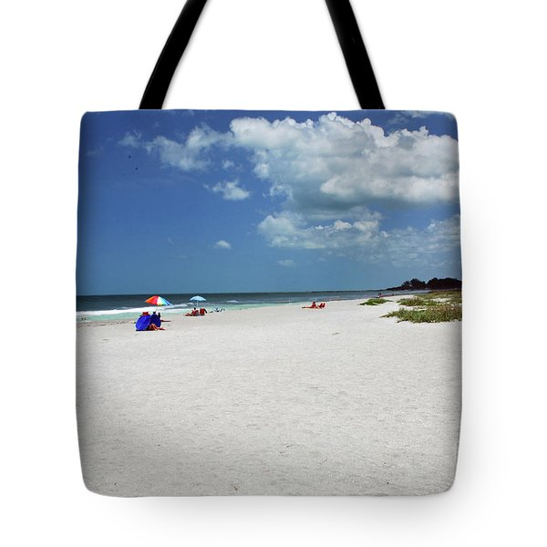 Tote Bag featuring the photograph Siesta Key Beach by Gary Wonning