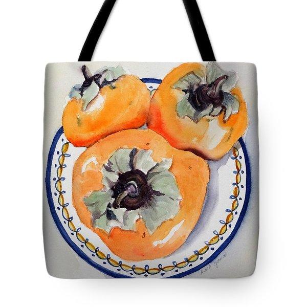 Simply Persimmons Tote Bag