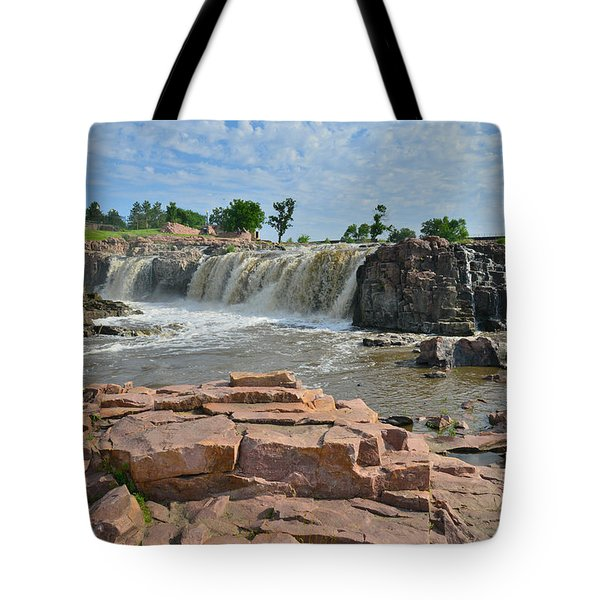 Sioux Falls Tote Bag by Ray Mathis