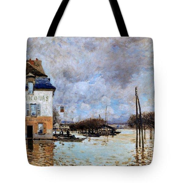 Sisley: Flood, 1876 Tote Bag by Granger