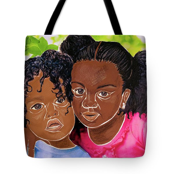 My Little Sister Tote Bag