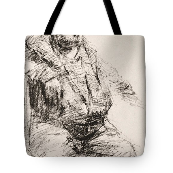 Sketch Man 20 Tote Bag