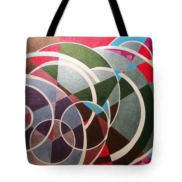 Tote Bag featuring the painting Sky by Hang Ho