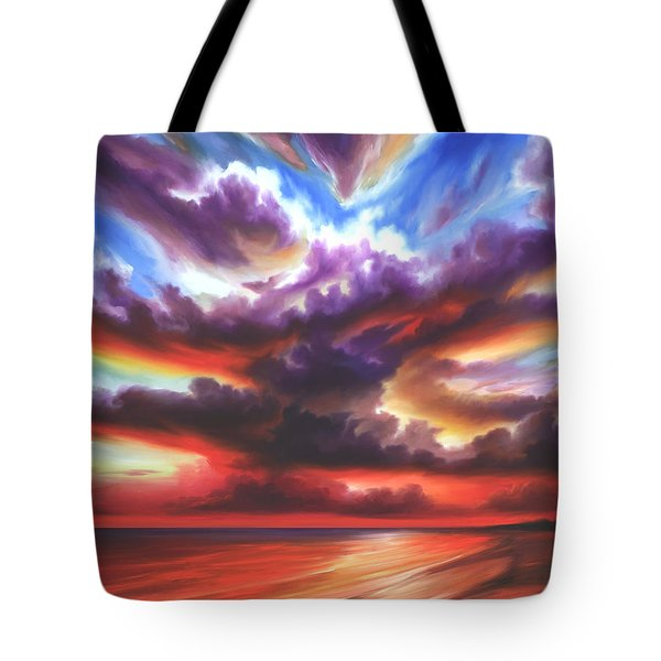 Skyburst Tote Bag by James Christopher Hill