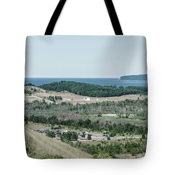 Tote Bag featuring the photograph Sleeping Bear Dunes National Lakeshore by Alexey Stiop