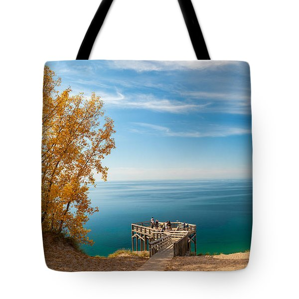 Sleeping Bear Overlook Tote Bag