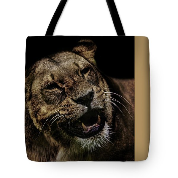 Smile Tote Bag by Martin Newman