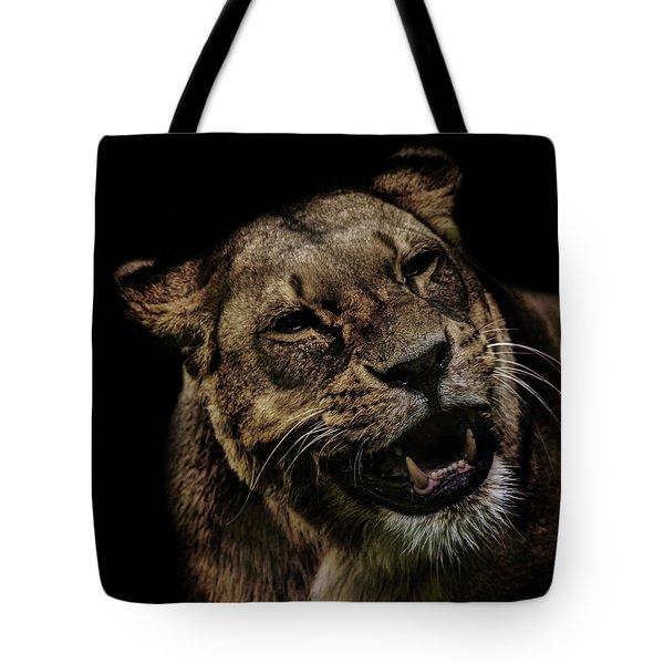 Orangutan Smile Tote Bag