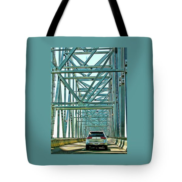 Smile Tote Bag by Rhonda McDougall