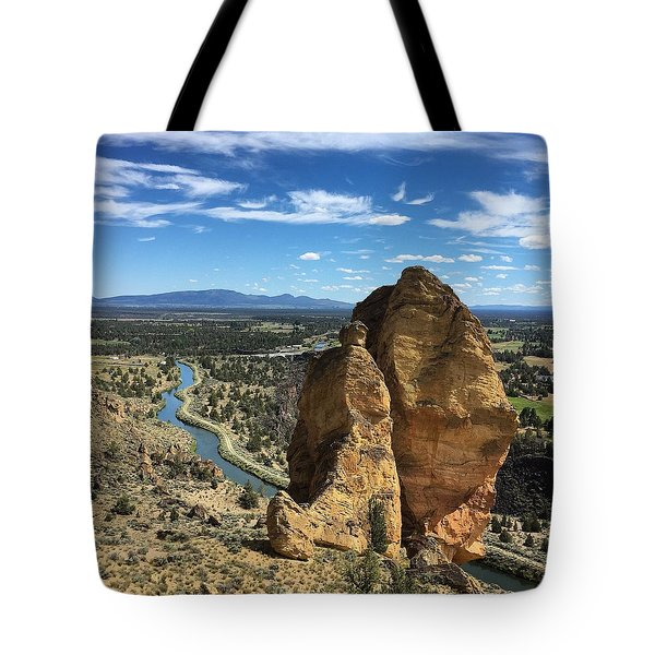 Smith Rocks Tote Bag