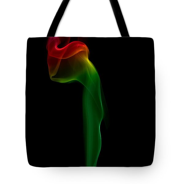 Tote Bag featuring the photograph smoke XII by Joerg Lingnau