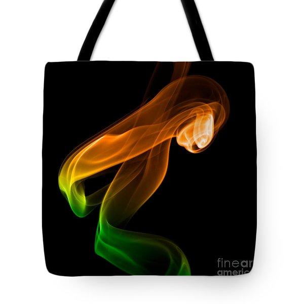 smoke XIV Tote Bag by Joerg Lingnau