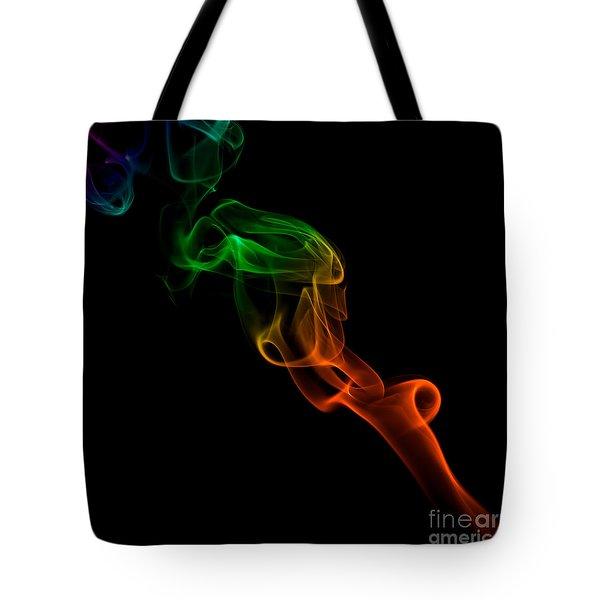 smoke XXXIII Tote Bag by Joerg Lingnau
