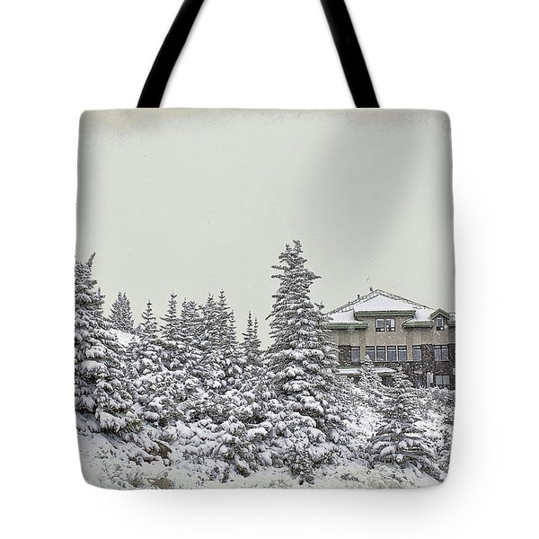 Snow In July Tote Bag by Teresa Zieba
