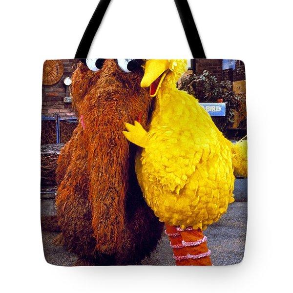 Snuffleupagus Tote Bag