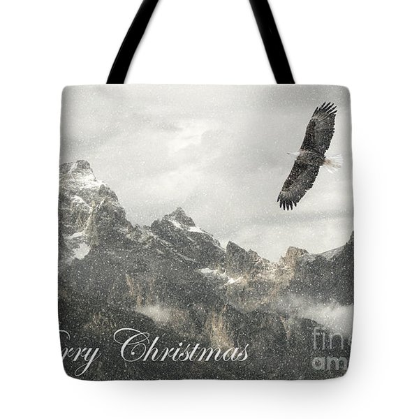 Soaring Tote Bag by Clare VanderVeen
