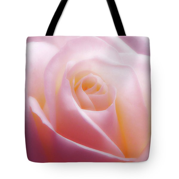Soft Nostalgic Rose Tote Bag