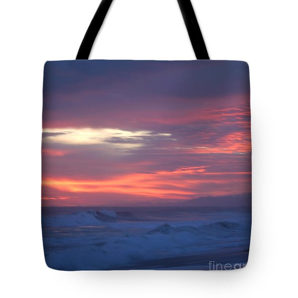 Tote Bag featuring the photograph Soft Sunset by Michelle Wiarda