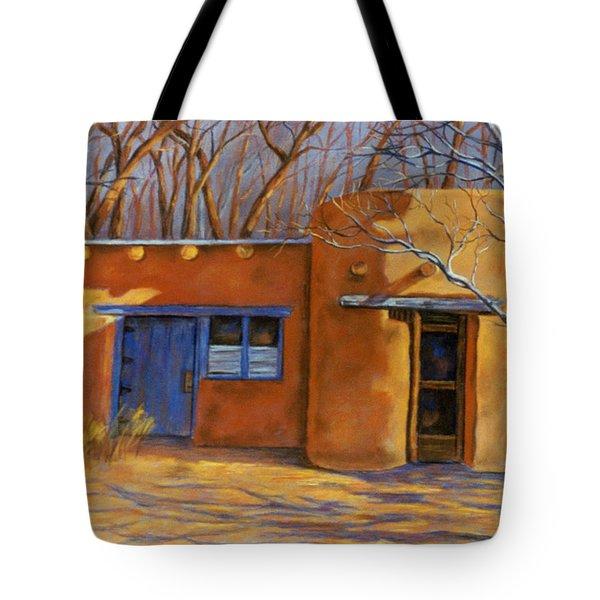 Sol Y Sombre Tote Bag by Ann Peck