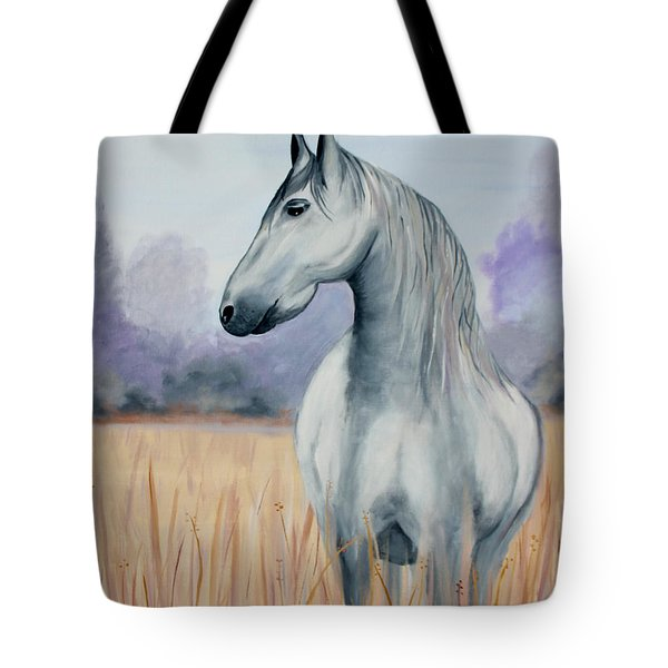 Solemn Spirit Tote Bag by Stacey Zimmerman