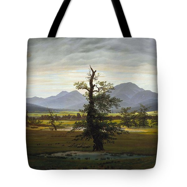 Solitary Tree Tote Bag