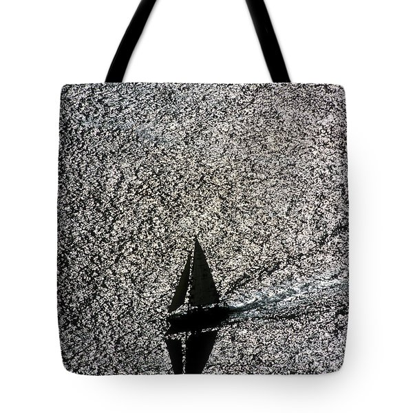 Sailing Into Solitude Tote Bag