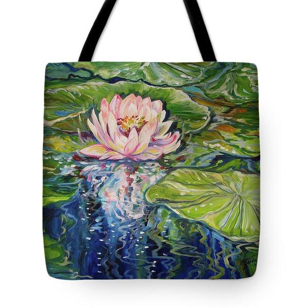 Solitude Waterlily Tote Bag