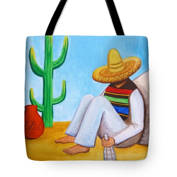 Sombrero Tote Bag by Lucy Deane