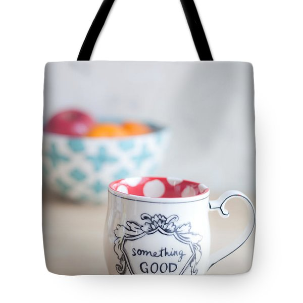 Something Good Tote Bag by Aiolos Greek Collections