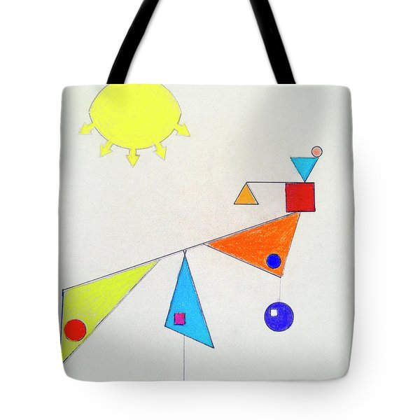 Something New Under The Sun Tote Bag