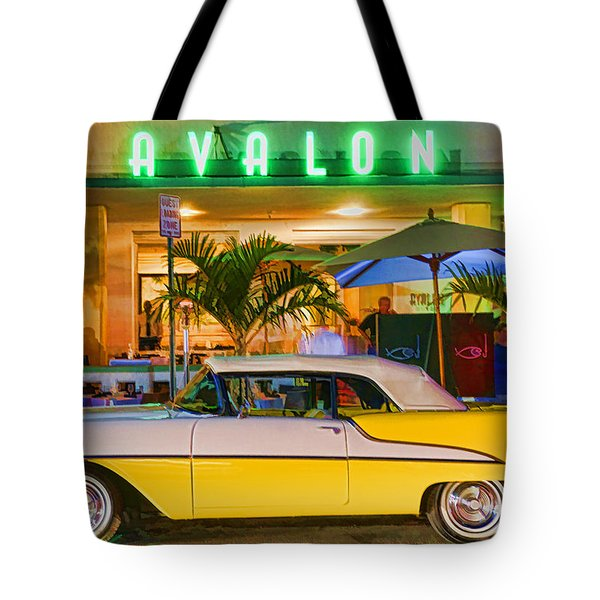 South Beach Classic Tote Bag by Dennis Cox WorldViews