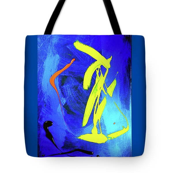 Tote Bag featuring the photograph Space Dance by Elf Evans