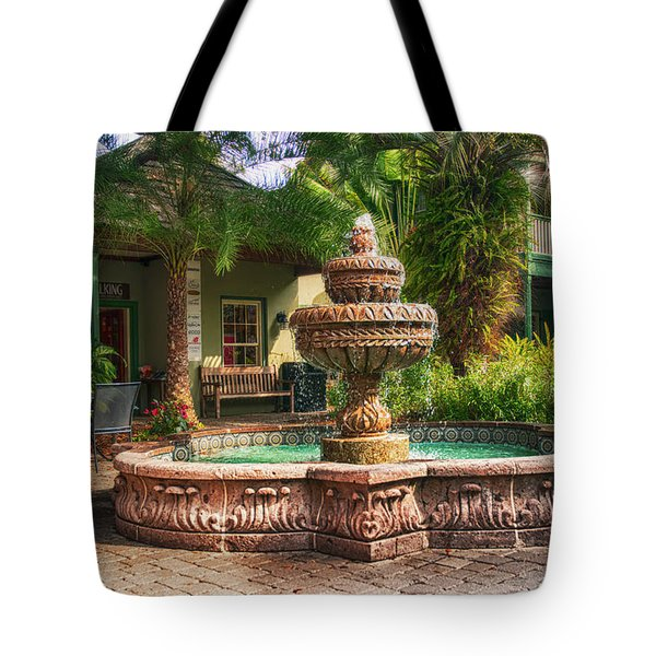 Spanish Fountain Tote Bag