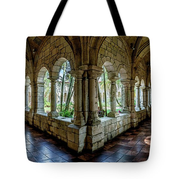 Spanish Monastery Tote Bag