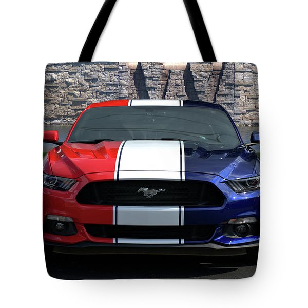 Special Edition 2016 Ford Mustang Tote Bag