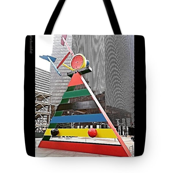 Spending Some Time In #downtown Tote Bag