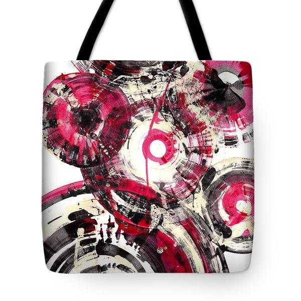 Tote Bag featuring the painting Sphere Series 1025.050412 by Kris Haas