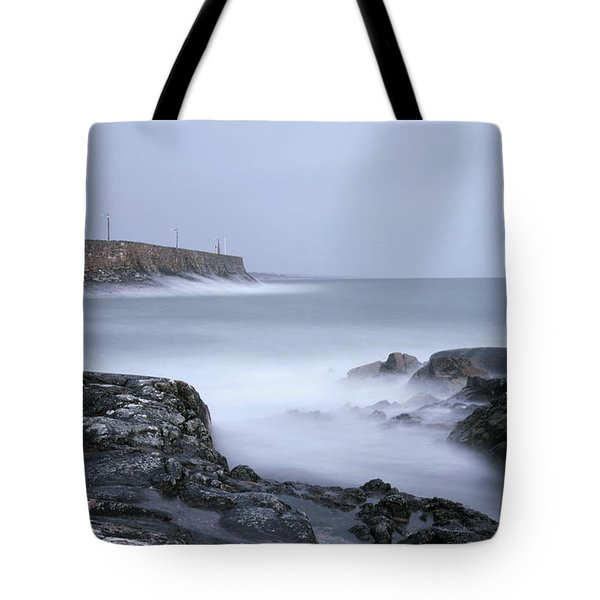 Spiddal Pier Tote Bag