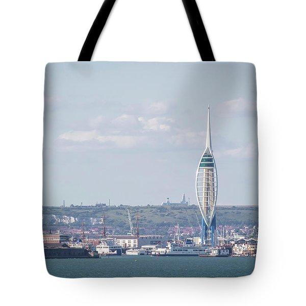 Spinnaker Tower Tote Bag