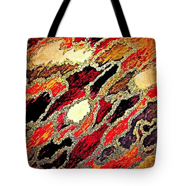 Spirit Journey Through The Fire Tote Bag by Rachel Hannah